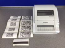 "Brother TD-4000 Professional Direct Thermal Label Printer - 4"" - 300 dpi - USB"